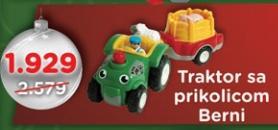 Traktor sa prikolicom Berni Wow