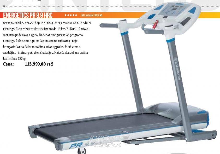 Traka za trčanje Energetics PR 9.9. HRC