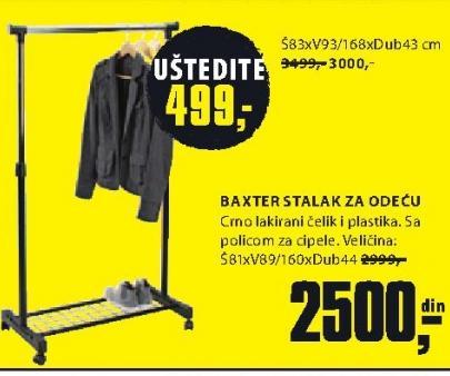 Stalak za odeću Baxter