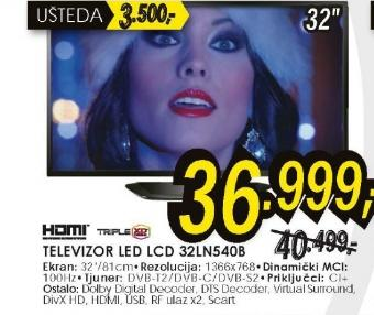 Televizor LED LCD 32LN540B