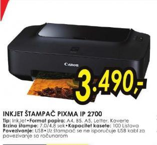 InkJet štampač PIXMA IP 2700