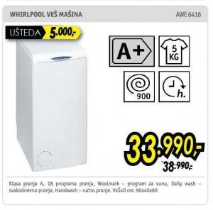Mašin za pranje veša Awe 6416