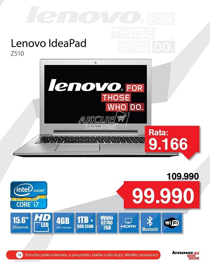 Laptop IdeaPad Z510