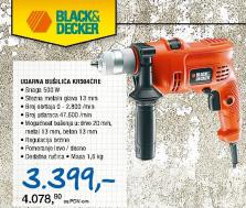 Udarna Bušilica Black&Decker Kr504CRE