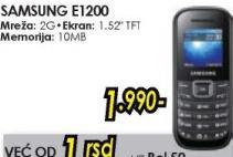 Mobilni telefon E1200