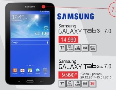 Tablet Galaxy Tab3 Lite 7.0