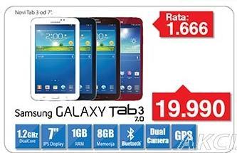 Tablet Galaxy Tab3 7.0