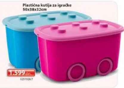 Plastična kutija za igračke