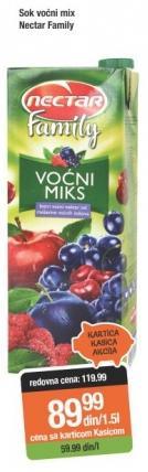Sok voćni mix