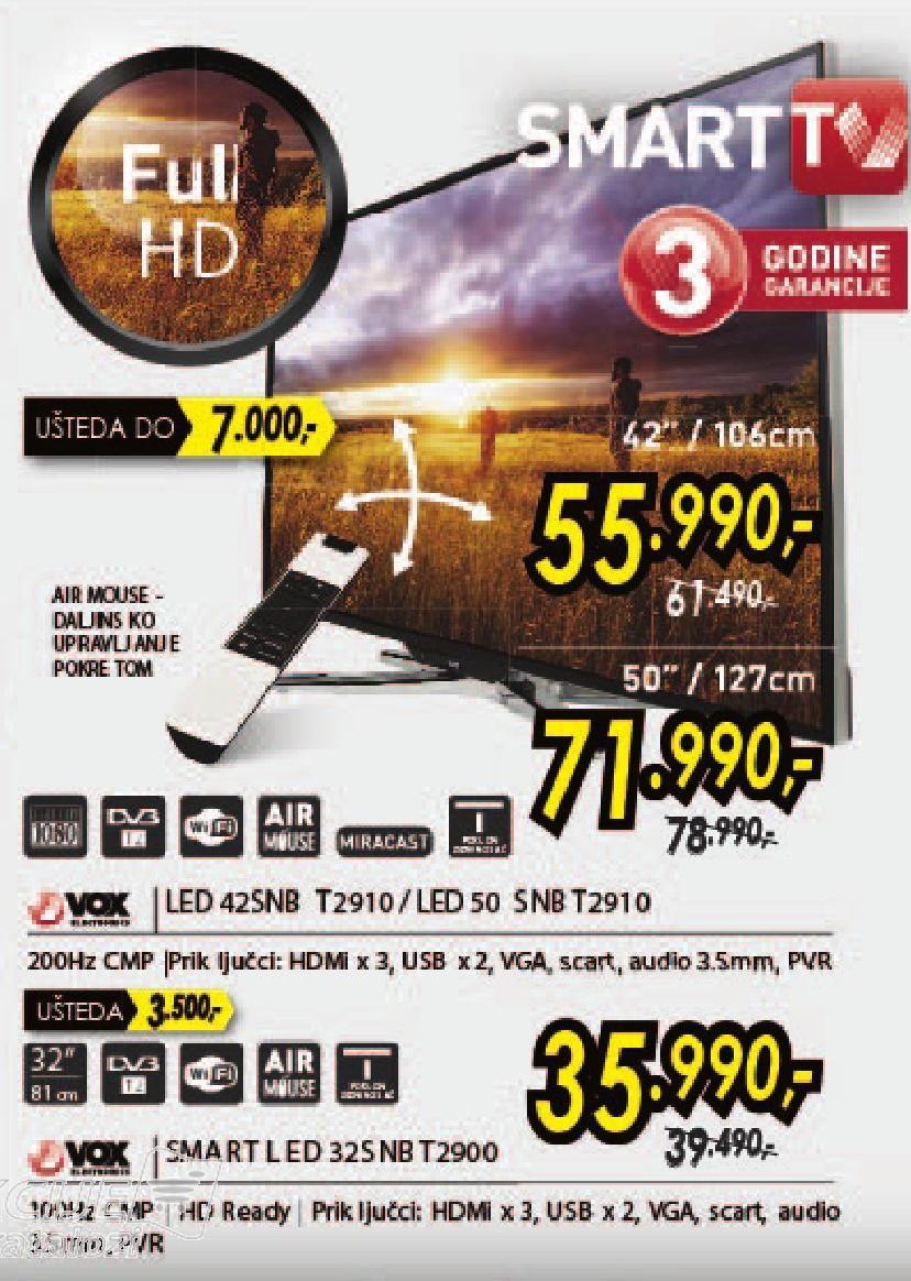 """Televizor LED 32"""" 32 SNB T 2900"""
