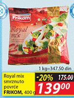 Smrznuto povrće royal mix