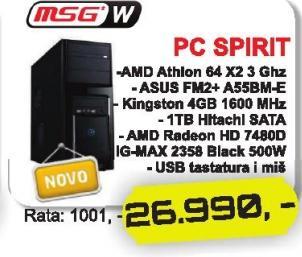 Računar Spirit Msgw