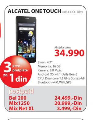 Mobilni telefon ONE TOUCH 6033