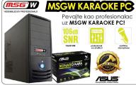 Desktop računar MSGW karaoke PC konfiguracija X233 DK A75