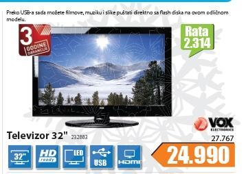 "Televizor 32"" LED 32883"
