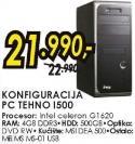 Konfiguracija MSGW PC Tehno I500