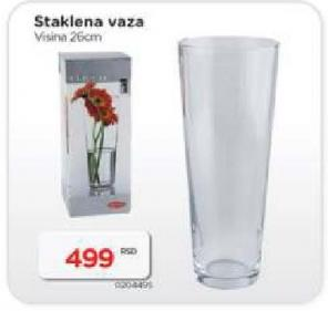 Vaza staklena