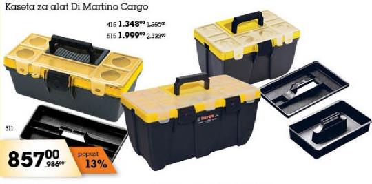 Kaseta za alat Di Martino Cargo 311