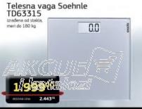 Telesna vaga TD63315