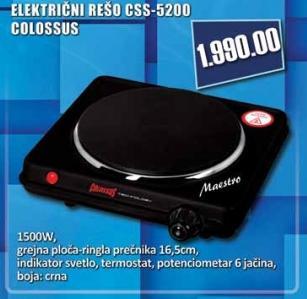 Električni Rešo CSS 5200