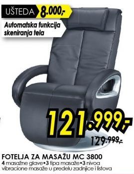 Fotelja za masažu Mc 3800