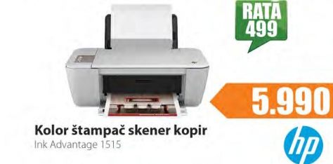 Kolor štampač / skener kopir  Ink Advantage 1515