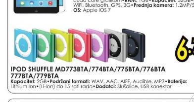 iPod shuffle MD773BT/A