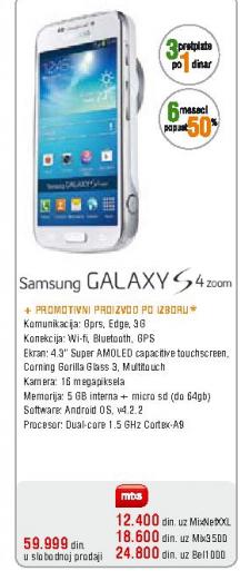 Telefon mobilni Galaxy S4 mini