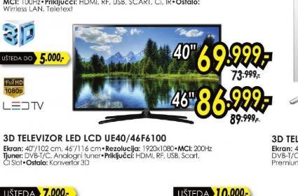 Televizor LED UE-46F6100