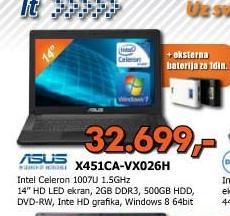 Laptop X451CA VX026H