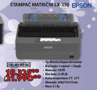 Štampač matrični LX - 350