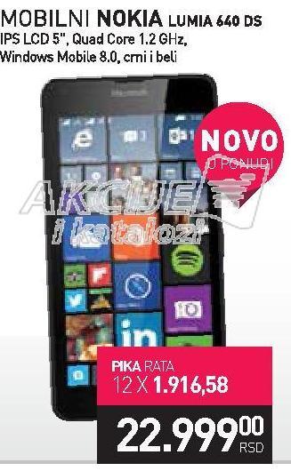 Mobilni telefon Lumia 640 DS