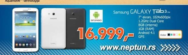 Mobilni telefon S7580 Galaxy Trend Pro White