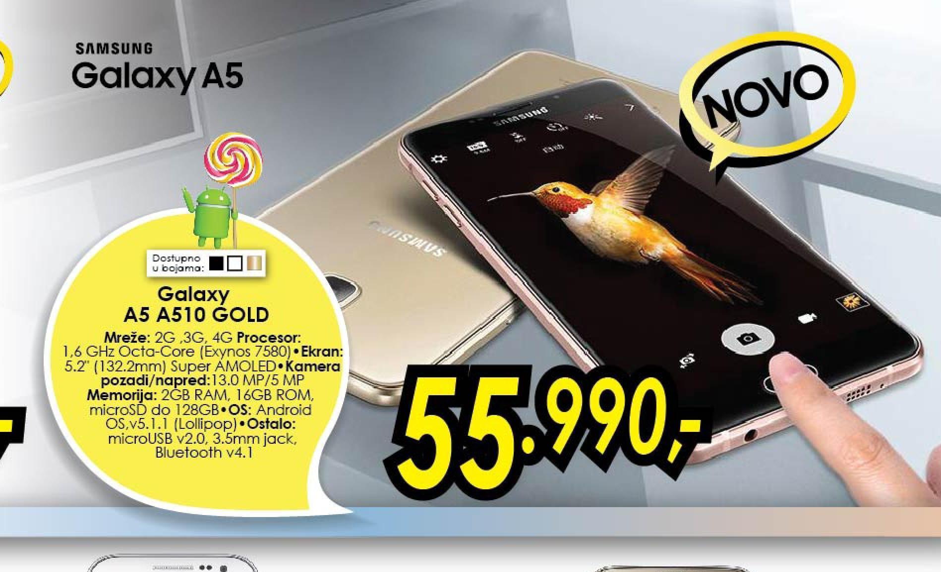 Mobilni telefon  A5   A510
