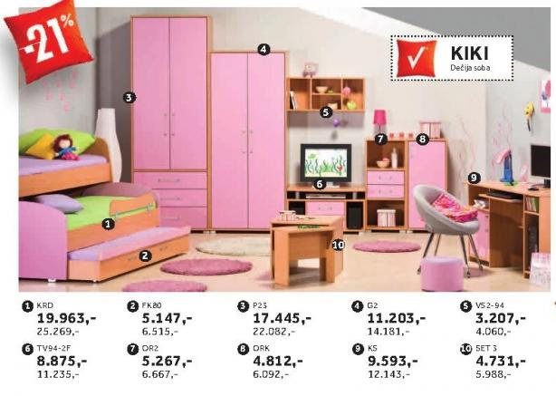 Tv polica Tv94-2f Kiki