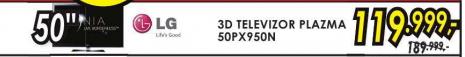 Televizor 3D Plazma 50PX950N