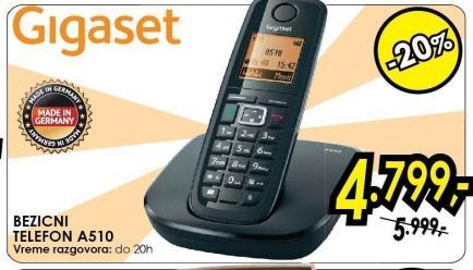 Bežični telefon A510