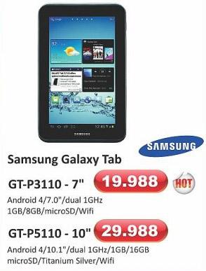 Galaxy Tab GT-P5110