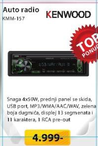 Auto radio KMM-157