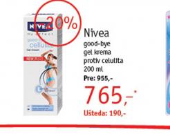 Good-bye gel krema protiv celulita