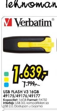 USB flash USB V3 16GB 49175