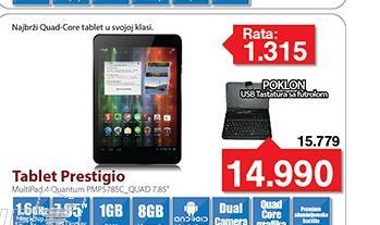 Tablet QUANTUM PMP5785C_QUAD 7.85