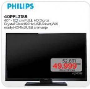 Televizor LED 40PFL3188