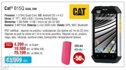 Mobilni telefon Cat B15q