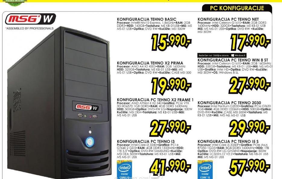 Konfiguracija PC TEHNO 2030