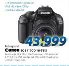 Fotoaparat DSLR EOS1100 18-55DC