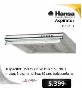 Aspirator Osc521H