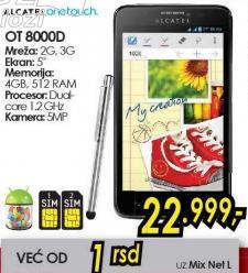 Mobilni telefon OT 8000d