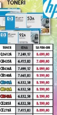 Toneri CE278A