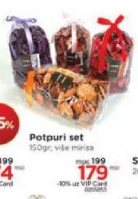 Potpuri set